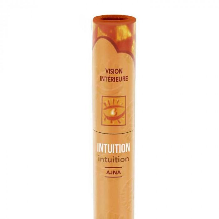 Intuition - encens ayurvédique - les encens du monde - Aromandise - packaging