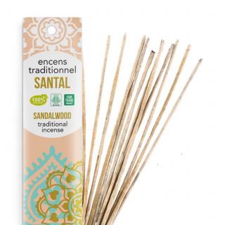 Encens Indien Haute Tradition - Santal Suprême - Les Encens du monde - Aromandise - packaging