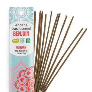 Encens Indien Haute Tradition - Benjoin - Les Encens du monde - Aromandise - Packaging