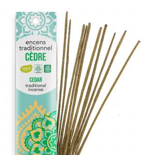 Encens Indien Haute Tradition - Cèdre - Les Encens du monde - Aromandise - Packaging