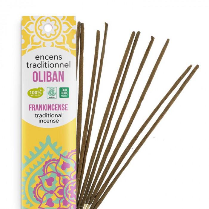 Encens Indien Haute Tradition - Oliban - Les Encens du monde - Aromandise - Packaging