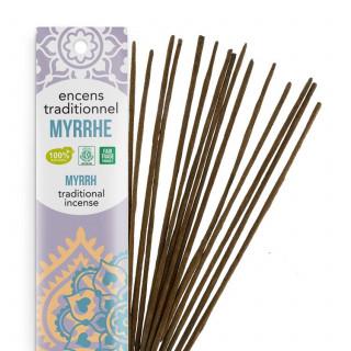 Encens Indien Haute Tradition - Myrrhe - Les Encens du monde - Aromandise - Packaging