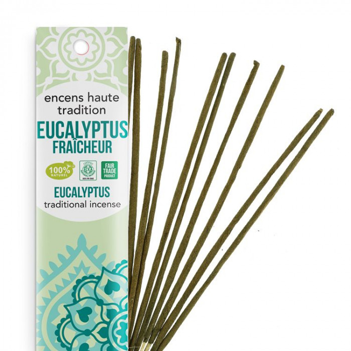 Encens Haute Tradition Eucalyptus Fraîcheur - les encens du monde - Packaging