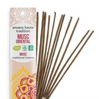 Encens Haute Tradition Musc Oriental - Les encens du monde - Packaging