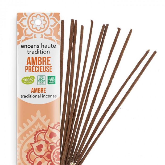 Encens Haute Tradition Ambre Précieuse - Les encens du monde - Packaging