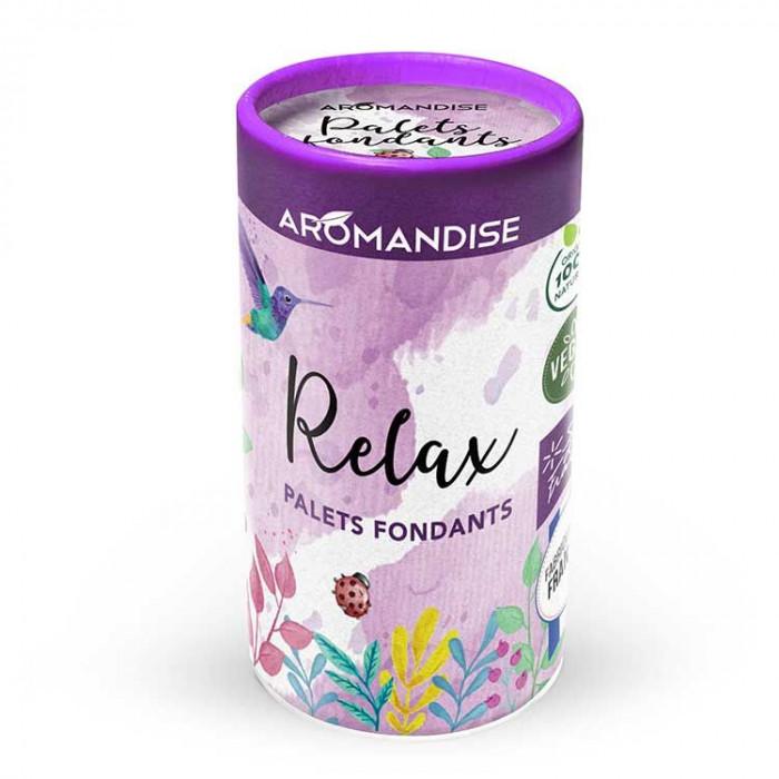 Palets fondants Relax - Aromandise - packaging