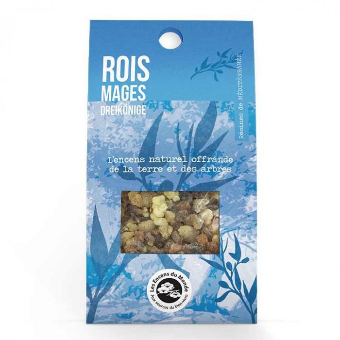 Rois Mages - résines - Les Encens du monde - Aromandise - packaging av