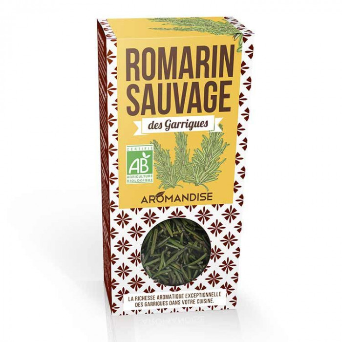Romarin sauvage des Garrigues - face