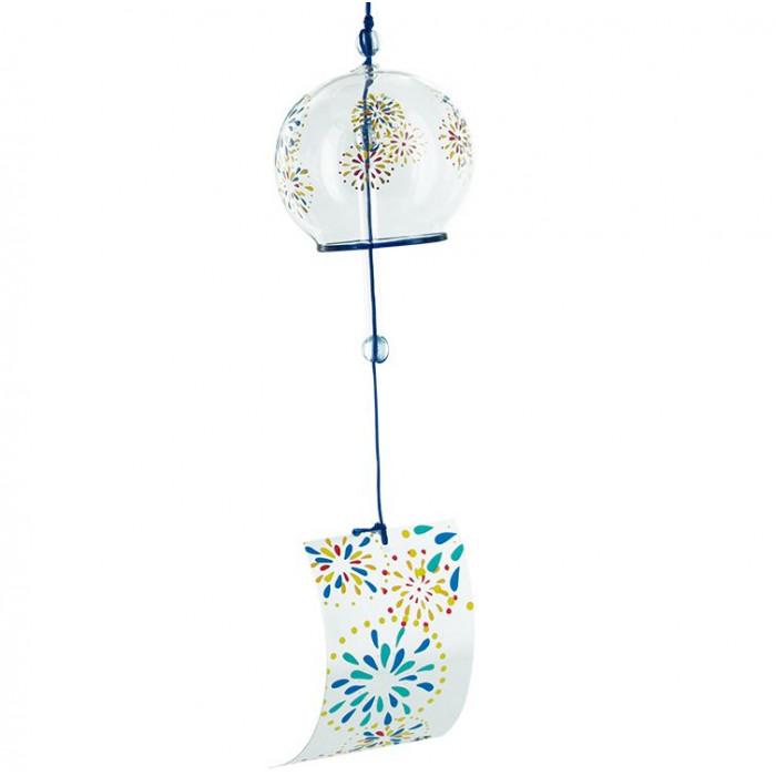 Feux d'Artifices - Jouet du vent en verre - Aromandise - face