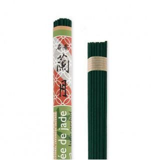 Rouleau japonais long Orchidée de jade
