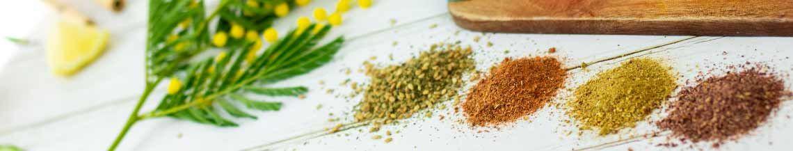 Aromates et condiments bio